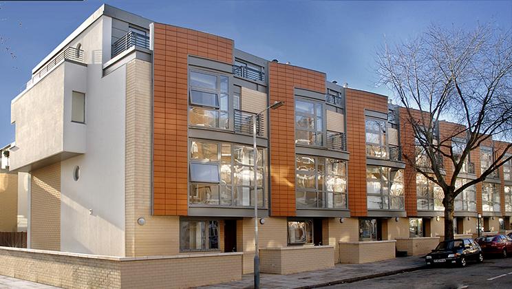 A21 Architects 14 Terraced Houses Islington